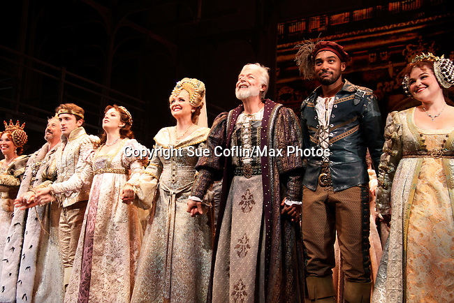 Paper Mill Playhouse presents the world premiere of the the new musical Ever After starring Christine Ebersole, Charles Shaughnessy, Julie Halson, Tony Sheldon James Snyder, Margo Seibert, John Hillard, Andrew Keenan-Bolger on May 31, 2015 with curtain call followed by gala at Charlie Bowns in Millburn, New Jersey (Photos by Sue Coflin/Max Photos)