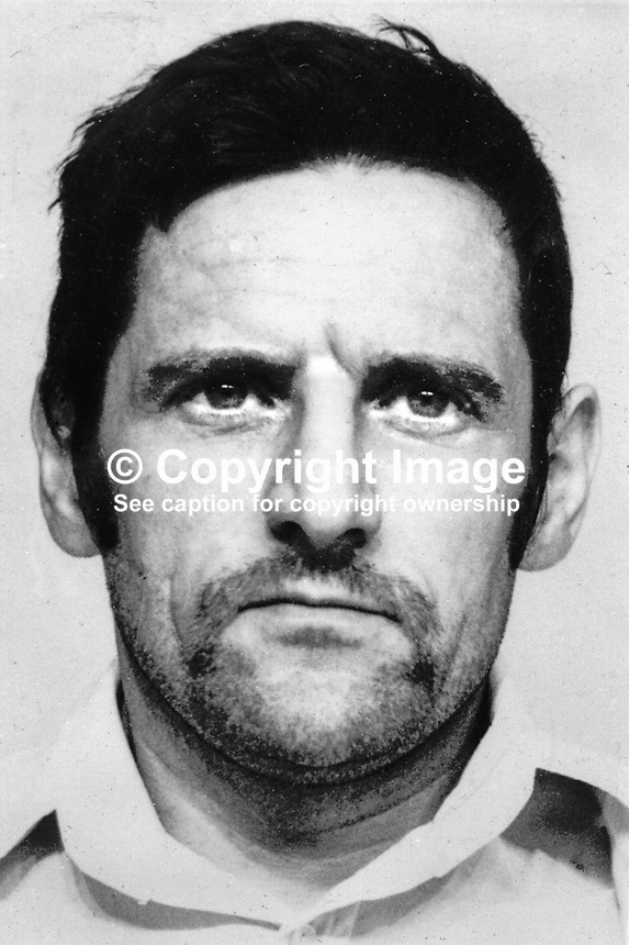 Samuel Tweed, East Belfast, UDA, Ulster Defence Association, N Ireland, May 1974.  197405070251<br />
