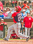 20 March 2015: Washington Nationals infielder Josh Johnson in Spring Training action against the Houston Astros at Osceola County Stadium in Kissimmee, Florida. The Nationals defeated the Astros 7-5 in Grapefruit League play. Mandatory Credit: Ed Wolfstein Photo *** RAW (NEF) Image File Available ***