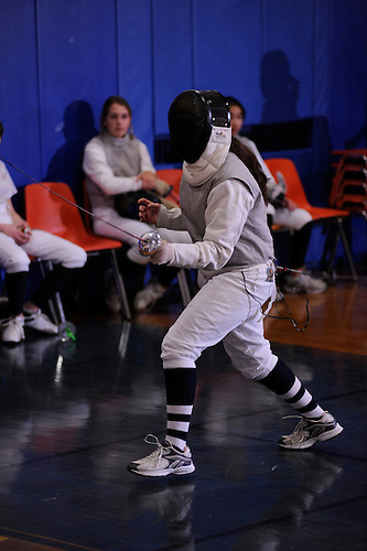 Fencing.Rye Country Day School vs. Hopkins.January 2010