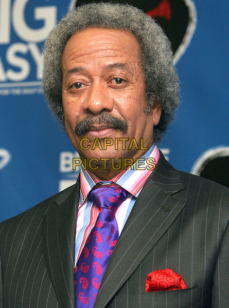 ALAN TOUSSAINT.At the 'From the Big Apple to the Big Easy' Katrina Benefit Concert at Madison Square Garden,.New York, 21st September 2005.portrait headshot  purple tie.Ref: ADM/JL.www.capitalpictures.com.sales@capitalpictures.com.© Capital Pictures.