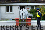 Forensics team at  a house in Torc Terrace on Thursday
