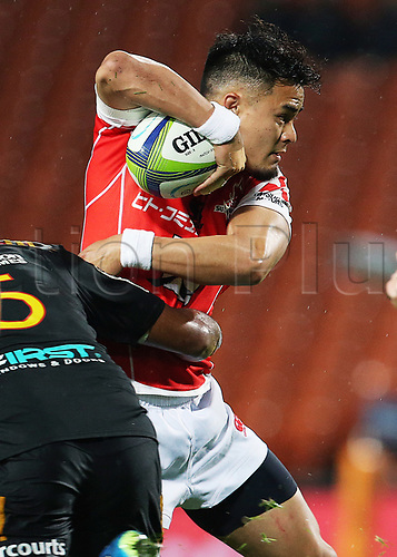 April 29th 2017, FMG Stadium Waikato, Hamilton, New Zealand; Super Rugby; Chiefs versus Sunwolves;  Sunwolves reserve Yu Tamura in action during the Super Rugby rugby match