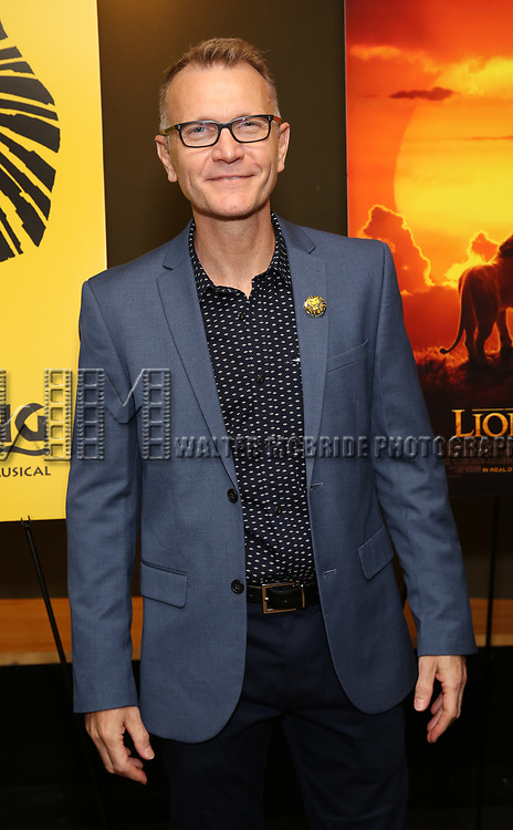"""Cameron Pow attends the Broadway screening of the Motion Picture Release of """"The Lion King"""" at AMC Empire 25 on July 15, 2019 in New York City."""