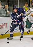 20 January 2017: University of Connecticut Husky Forward Brendan Taylor, a Sophomore from Nanaimo, BC, in first period action against the University of Vermont Catamounts at Gutterson Fieldhouse in Burlington, Vermont. The Huskies fell to the Catamounts 5-4 in the first game of their Home-and-Home Hockey East Series. Mandatory Credit: Ed Wolfstein Photo *** RAW (NEF) Image File Available ***