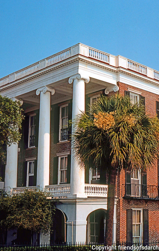 Charleston:  House on Battery.  Photo '78.