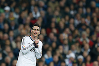 30.01.2013 SPAIN -  Copa del Rey 12/13 Matchday 1/4  match played between Real Madrid CF vs  F.C. Barcelona (1-1) at Santiago Bernabeu stadium. The picture show Jose Maria Callejon (Spanish midfielder of Real Madrid)