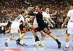 10.01.2019, Mercedes Benz Arena, Berlin, GER, Handball WM 2019, Deutschland vs. Korea, im Bild <br /> Jannik Kohlbacher (GER #48), KU Changeun (Korea #88)<br />      <br /> Foto © nordphoto / Engler