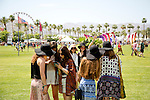 Festival-goers at Weekend 1 of the Coachella Valley Music and Arts Festival in Indio, California April 10, 2015. (Photo by Kendrick Brinson)