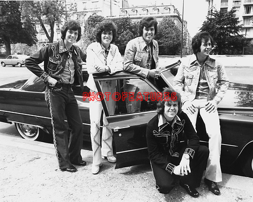 Osmonds 1975 in Europe.© Chris Walter.