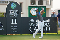 Rafa Cabrera Bello (ESP) on the 11th during Round 2 of the Saudi International at the Royal Greens Golf and Country Club, King Abdullah Economic City, Saudi Arabia. 31/01/2020<br /> Picture: Golffile | Thos Caffrey<br /> <br /> <br /> All photo usage must carry mandatory copyright credit (© Golffile | Thos Caffrey)