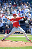Philadelphia Phillies pitcher David Buchanan (78) during a spring training game against the New York Yankees on March 1, 2014 at Steinbrenner Field in Tampa, Florida.  New York defeated Philadelphia 4-0.  (Mike Janes/Four Seam Images)