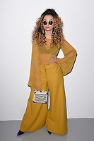 Ella Eyre<br /> at the Teatum Jones AW17 show as part of London Fashion Week AW17 at 180 Strand, London.<br /> <br /> <br /> &copy;Ash Knotek  D3230  17/02/2017