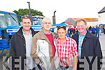 Patrick Cahill (Beaufort) John Tangney (Listry) Greg Ashe (Castlemaine) and John O'Brien (Castlemaine) pictured at Castlemaine vintage day on Sunday.