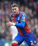 Crystal Palace's Joel Ward in action <br /> <br /> - English Premier League - Crystal Palace vs Liverpool  - Selhurst Park - London - England - 6th March 2016 - Pic David Klein/Sportimage