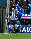 20/11/2010   Copyright  Pic : James Stewart.sct_jsp003_kilmarnock_v_rangers  .:: CONOR SAMMON IS CONGRATULATED BY MANUEL PASCALI AFTER HE SCORES KILLIE'S FIRST ::.James Stewart Photography 19 Carronlea Drive, Falkirk. FK2 8DN      Vat Reg No. 607 6932 25.Telephone      : +44 (0)1324 570291 .Mobile              : +44 (0)7721 416997.E-mail  :  jim@jspa.co.uk.If you require further information then contact Jim Stewart on any of the numbers above.........