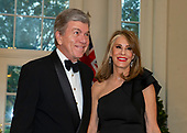 United States Senator Roy Blunt (Republican of Missouri) and Abigail Blunt arrive for the State Dinner hosted by United States President Donald J. Trump and First lady Melania Trump in honor of Prime Minister Scott Morrison of Australia and his wife, Jenny Morrison, at the White House in Washington, DC on Friday, September 20, 2019.<br /> Credit: Ron Sachs / Pool via CNP