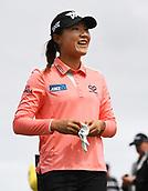 29th September 2017, Windross Farm, Auckland, New Zealand; LPGA McKayson NZ Womens Open, second;  New Zealand's Lydia Ko