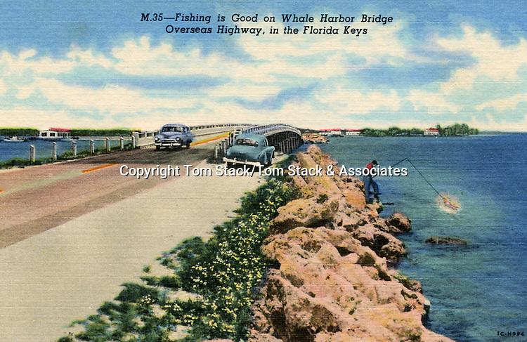 Historic Whale Harbor Bridge, Florida Keys
