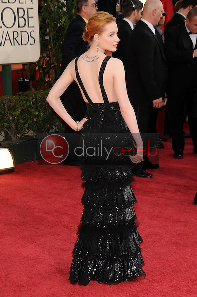 Evan Rachel Wood<br />at the 66th Annual Golden Globe Awards. Beverly Hilton Hotel, Beverly Hills, CA. 01-11-09<br />Dave Edwards/DailyCeleb.com 818-249-4998