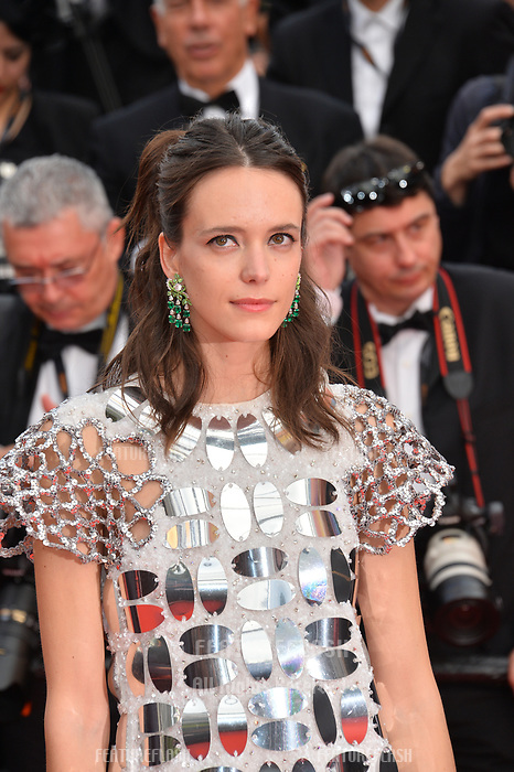 """CANNES, FRANCE. May 22, 2019: Stacy Martin at the gala premiere for """"Oh Mercy!"""" at the Festival de Cannes.<br /> Picture: Paul Smith / Featureflash"""