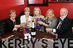 Birthday Toast: Breda Lyons ( centre ), Tanavalla, Listowel celebrating  her birthday with  friends Eileen O'Sullivan, Dolores O'Connor, Myra O'Shea and Treasa Roche at Lawlors Bar in Listowel on Friday night last.