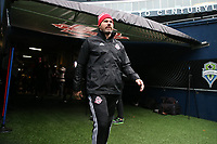 SEATTLE, WA - NOVEMBER 9: Head Coach Greg Vanney of Toronto FC takes the field at CenturyLink Field on November 9, 2019 in Seattle, Washington.