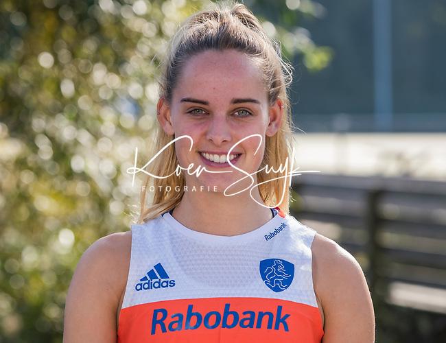 UTRECHT -  FAMKE RICHARDSON  , trainingsgroep Nederlands team hockey.   COPYRIGHT  KOEN SUYK
