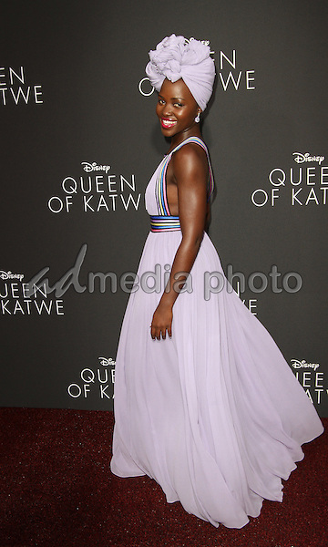 """20 September 2016 - Hollywood, California - Lupita Nyong'o. """"Queen Of Katwe"""" Los Angeles Premiere held at the El Capitan Theater in Hollywood. Photo Credit: AdMedia"""