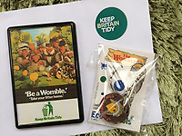 BNPS.co.uk (01202 558833)<br /> Pic: GillSeyfang/BNPS<br /> <br /> Womble 'Keep Britain Tidy' memorabilia<br /> <br /> An environmentalist is selling the world's biggest Womble collection after the famous furry creatures inspired her to save the planet as a child.<br /> <br /> Gill Seyfang, a senior lecturer in Sustainable Consumption at the University of East Anglia, owns over 1,700 items relating the furry creatures.<br /> <br /> Her vast collection ranges from soft toys to rubbish bins and was recognised by the Guinness Book of Records in 2016.<br /> <br /> Ms Seyfang, from Norwich, Norfolk, began amassing the group in the 1970s and it has continued to grow ever since.