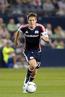 Kelyn Rowe New England midfielder in action... Sporting Kansas City defeated New England Revolution 3-0 at LIVESTRONG Sporting Park, Kansas City, Kansas.