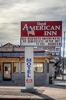 The Royal American Inn on Route 66 in Williams Arizona.