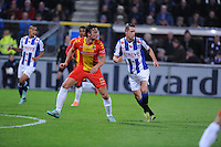 VOETBAL: HEERENVEEN: Abe Lenstra Stadion 08-11-2014, SC Heerenveen - Go Ahead Eagles, uitslag 2-2, Mark Uth (sc Heerenveen), ©foto Martin de Jong