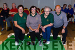 The Killarney Sweepers team that played in the National Bowls finals in the INEC on Wednesday l-r: Sheila Barclays, Helen Foley, Betty McCarthy  and Carl Herpels