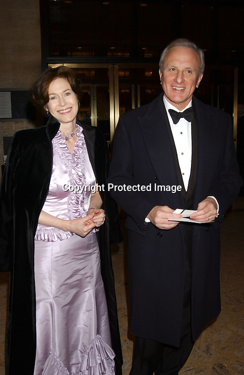 Kimba Wood And Husband Frank Richardson At The New York City Ballet Opening Night