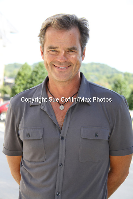 "Days Of Our Lives - Wally Kurth meets the fans as he signs ""Days Of Our Lives Better Living"" on September 27, 2013 at Books-A-Million in Nashville, Tennessee. (Photo by Sue Coflin/Max Photos)"