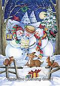 Interlitho-Dani, CHRISTMAS SANTA, SNOWMAN, WEIHNACHTSMÄNNER, SCHNEEMÄNNER, PAPÁ NOEL, MUÑECOS DE NIEVE, paintings+++++,§ snowmens,KL6137,#x#