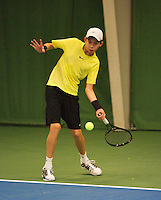 01-12-13,Netherlands, Almere,  National Tennis Center, Tennis, Winter Youth Circuit, Amadatus Admiraal    <br /> Photo: Henk Koster