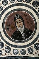 St. Luke,cross-vault paintings,crypt,AD 955,Osios Loukas Monastery,Greece