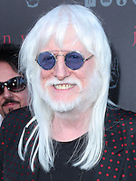 WEST HOLLYWOOD, CA, USA - SEPTEMBER 21: Edgar Winter arrives at the John Varvatos #PeaceRocks Ringo Starr Private Concert held at the John Varvatos Boutique on September 21, 2014 in West Hollywood, California, United States. (Photo by Xavier Collin/Celebrity Monitor)
