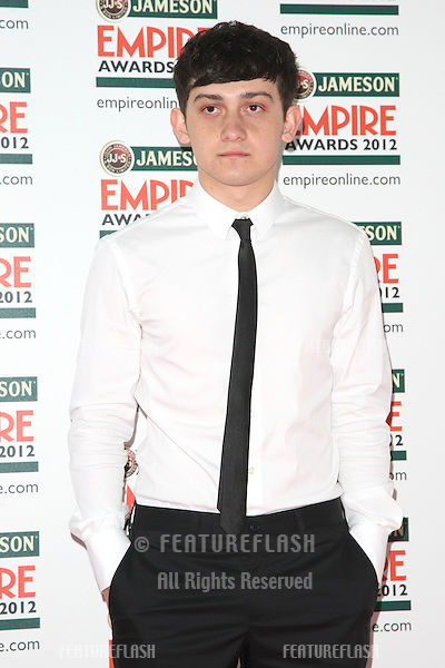 Craig Roberts arriving for  the Empire Film Awards 2012 at the Grosvenor House Hotel, London. 25/03/2012 Picture by: Henry Harris / Featureflash