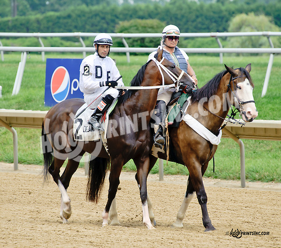 Chippewawhitechief before The Nick Shuk Memorial Stakes at Delaware Park racetrack on 7/10/14