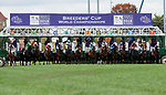 November 2, 2018: The start of the Juvenile Fillies Turf on Breeders' Cup World Championship Friday at Churchill Downs on November 2, 2018 in Louisville, Kentucky. Casey Phillips/Eclipse Sportswire/CSM