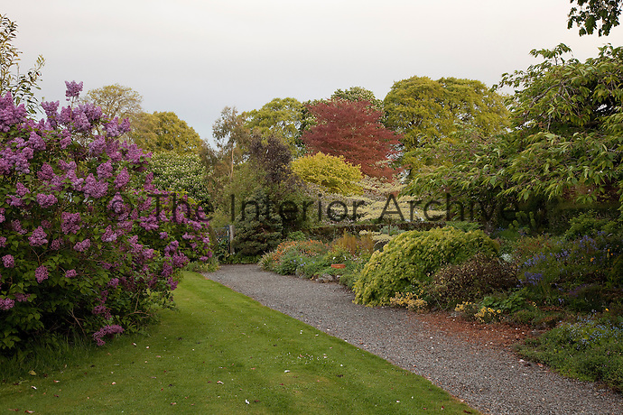 The gardens of Burtown House are full of colour and variety during the summer months