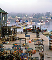 Fishing village, Bass Harbor. Maine USA Bass Harbor, Mt. Desert Island.
