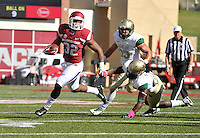 NWA Media/Michael Woods --10/25/2014-- w @NWAMICHAELW...University of Arkansas running back Jonathan Williams tries to get past Alabama Birmingham defenders as he runs the ball down inside the 5 yard line in the 1st quarter of Saturday's game at Razorback Stadium in Fayetteville.