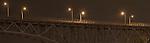 Seattle, Aurora Bridge, at night, Queen Anne, Washington State, architecture,