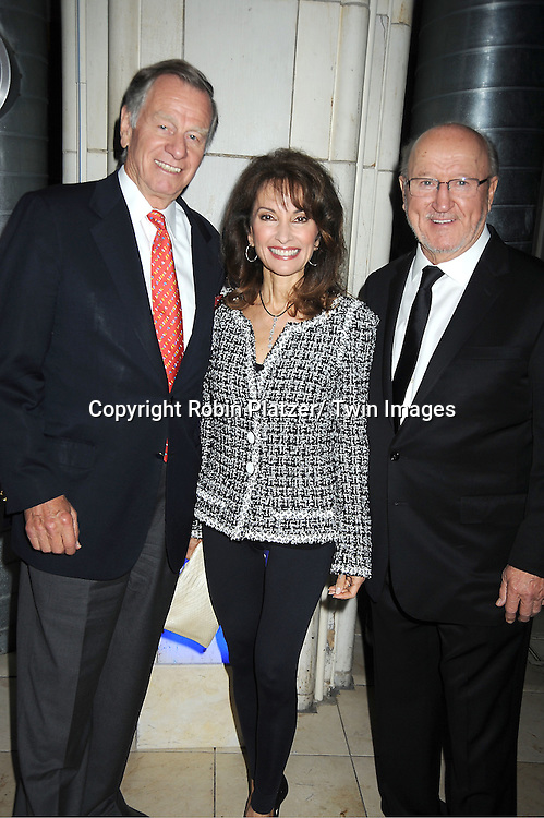 iSusan Lucci, Helmet Huber and Robert B Campbell  attends the Little Flower Children and Family Services of New York Awards Dinner  on May 9, 2012 at Guastavinos in New York City. Robert B Campbell was the honoree.