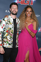 "LOS ANGELES - SEP 18:  Calum Scott, Leona Lewis at the ""America's Got Talent"" Season 14 Finale Red Carpet at the Dolby Theater on September 18, 2019 in Los Angeles, CA"