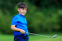 Niall McCarthy (Athenry) on the 1st tee during the Connacht U12, U14, U16, U18 Close Finals 2019 in Mountbellew Golf Club, Mountbellew, Co. Galway on Monday 12th August 2019.<br /> <br /> Picture:  Thos Caffrey / www.golffile.ie<br /> <br /> All photos usage must carry mandatory copyright credit (© Golffile | Thos Caffrey)